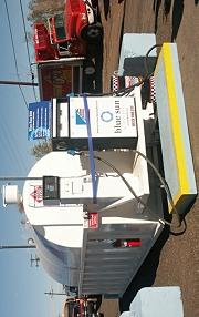 Biodiesel pump being delivered