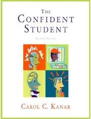 The Confident Student