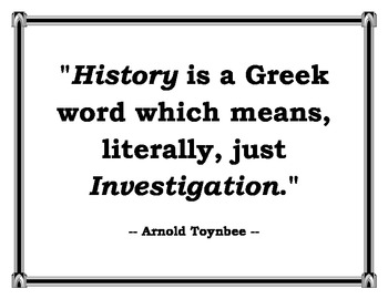 Arnold Toynbee quote
