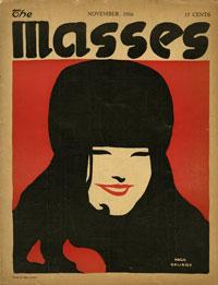Cover of The Masses November 1916