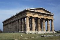 A photo of the Temple of Poseidon
