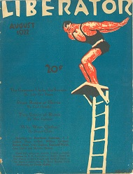 Cover of the Liberator August 1922