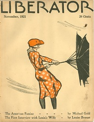Cover of the Liberator, Nov. 1921