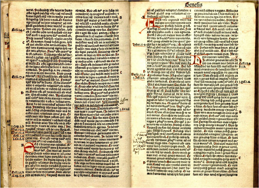 1495 Latin Vulgate Bible