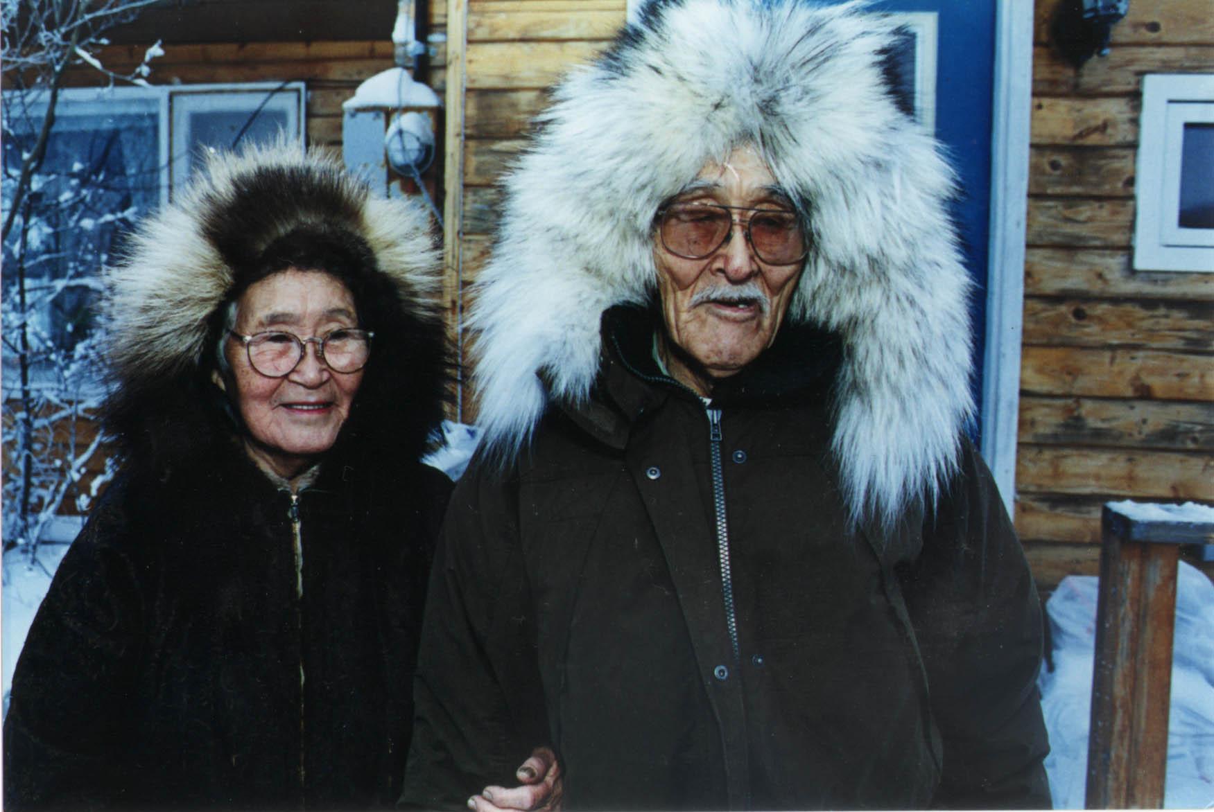 image of elderly couple