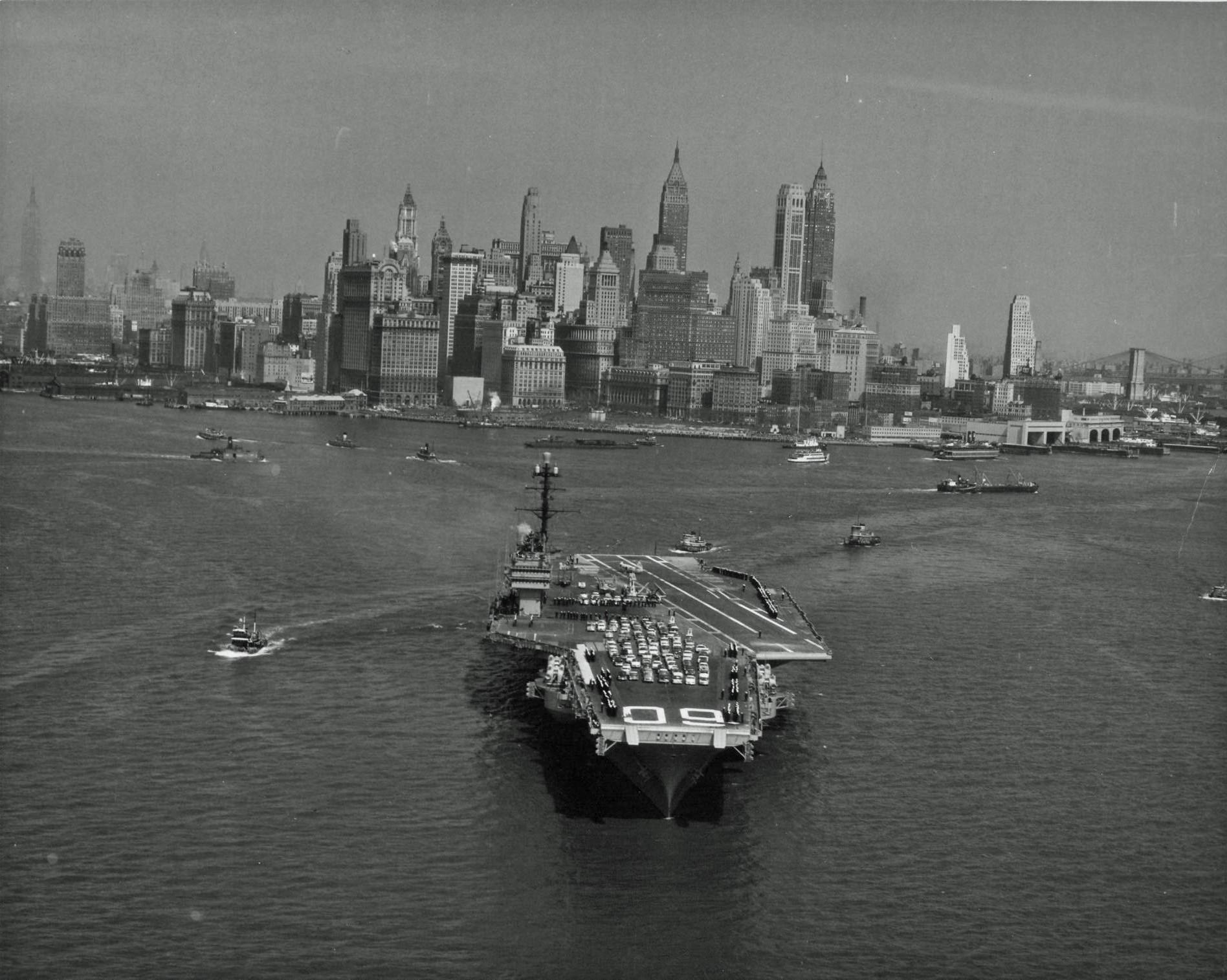 New York circa 1940s
