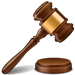 Icon of a judge's gavel