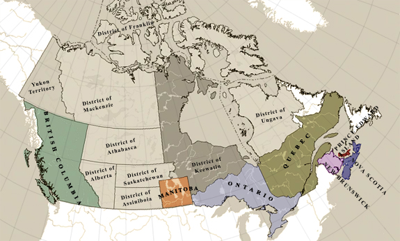 Electoral Atlas of the Dominion of Canada (1895)