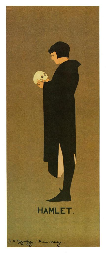 a painting of hamlet