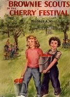 Book jacket: Brownie Scouts in the Cherry Festival