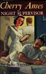 Book jacket: Cherry Ames, Night Supervisor
