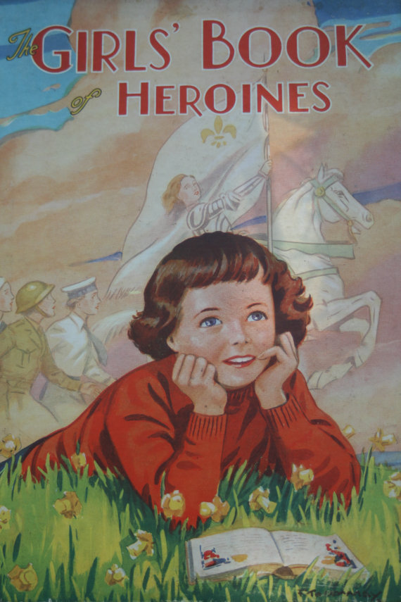Book Cover: Girls' Book of Heroines