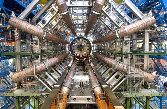 Image of the Large Hadron Collider