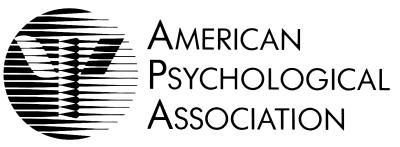 Image of the American Psychological Association logo