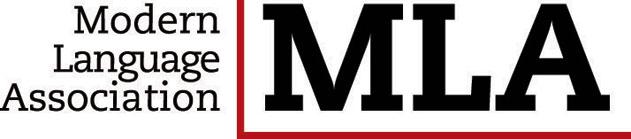 Image of the Modern Language Association logo