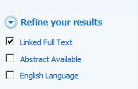 MEDLINE linked fulltext link