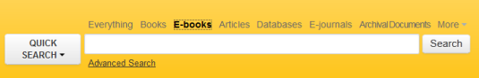 E-Books Quick Search
