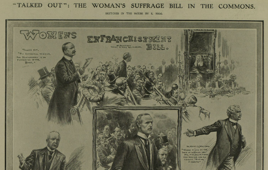 """Talked Out"" - Women's Suffrage Bill in the Commons"