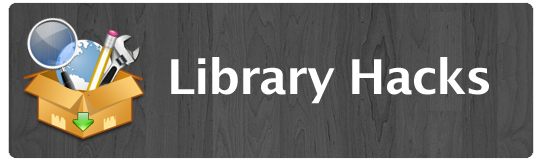 library hacks header image