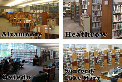 Four Campus Libraries