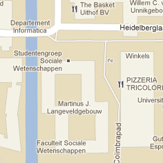 Utrecht in Googler Maps