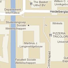 Utrecht in Googler Maps