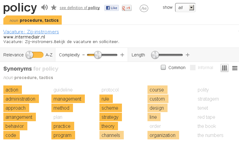 synonyms and more at thesaurus.com