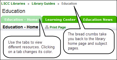 Image explaining guide navigation