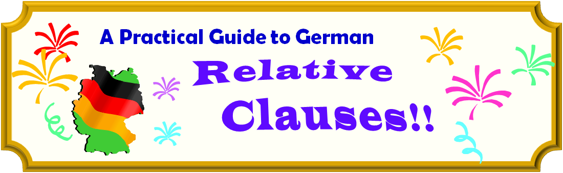 A Practical Guide to German: Relative Clauses - banner