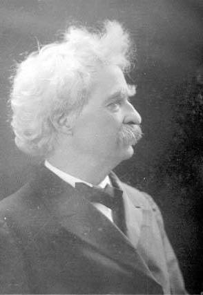 Photo of Samuel Longhorn Clemens (Mark Twain)
