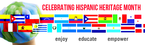 Images celebrating Hispanic Heritage Month