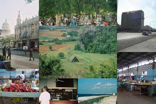 Photo collage: Images from Cuba