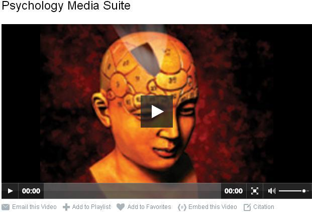 Psychology Media Suite