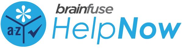 Brainfuse HelpNow logo and link