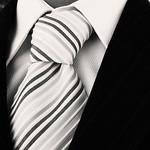suit and tie closeup