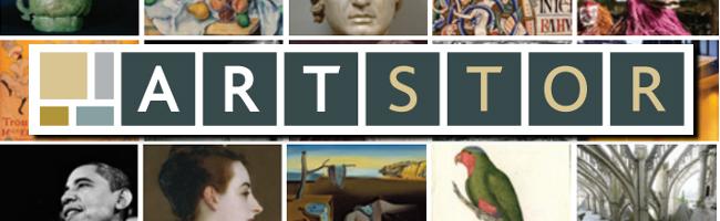 ARTSTOR banner