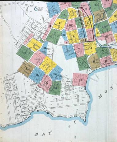 Wilkes Circles Sanborn Map 1905