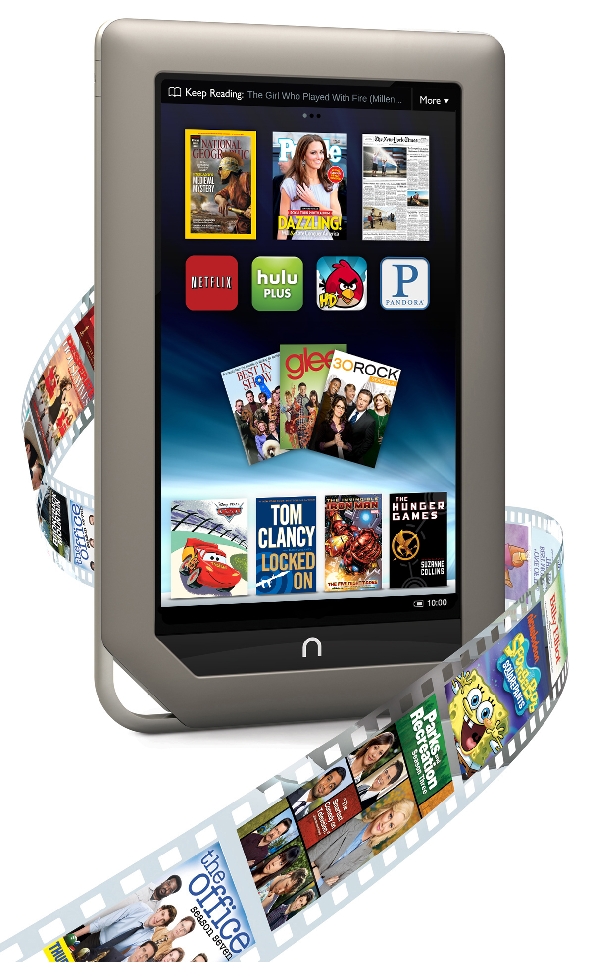 Image of the Nook Tablet