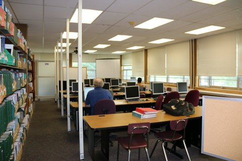 Library instruction lab