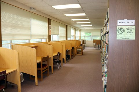 Quiet study carrels