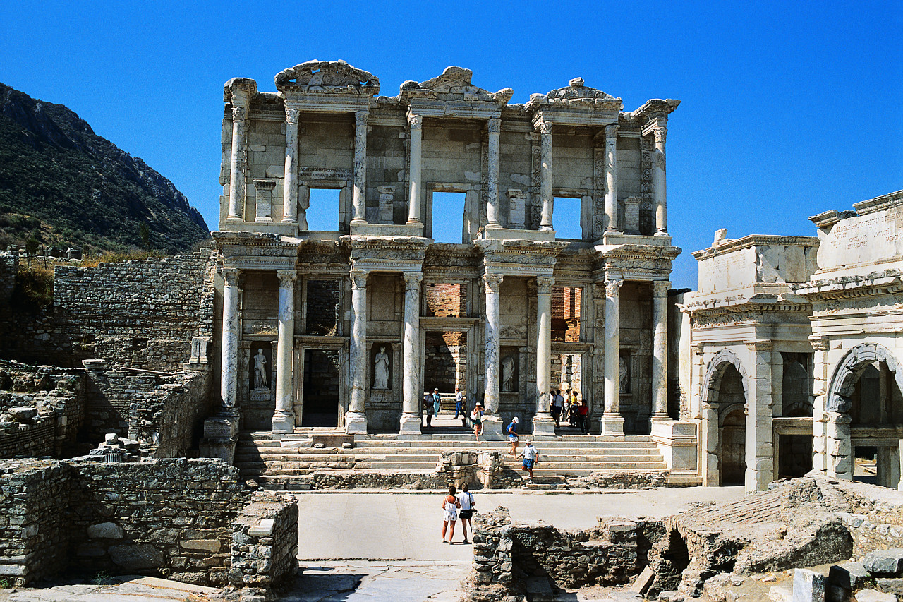 ephesus ancient library