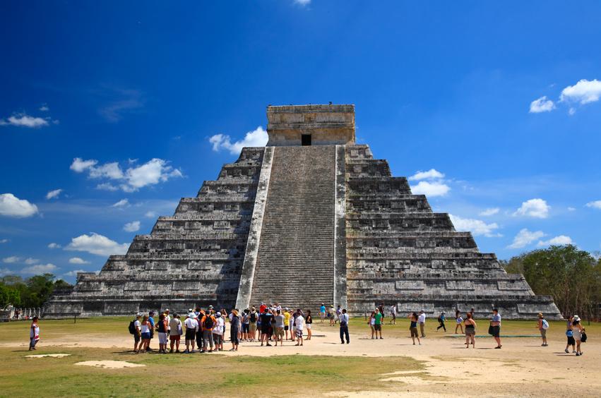 yucatan pyramid