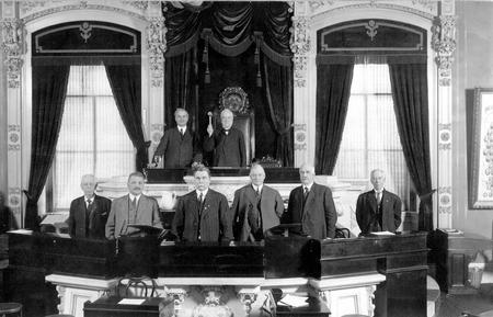 Photo of Ohio Constitutional Convention in 1912