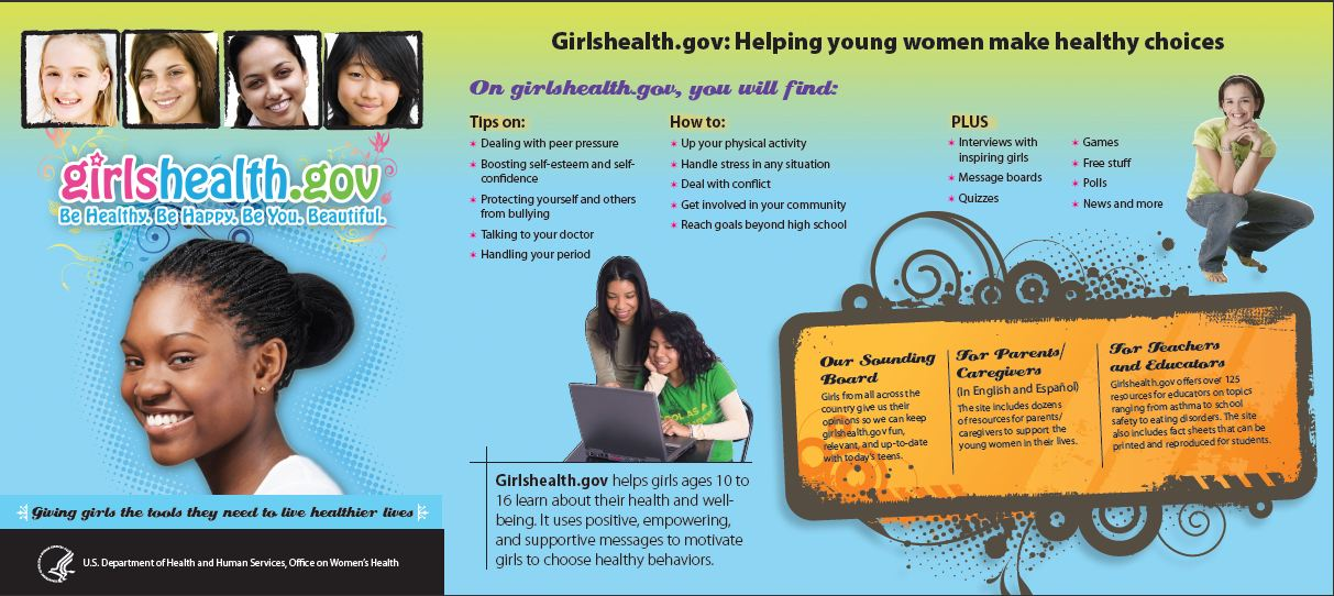 Girl's Health Brochue