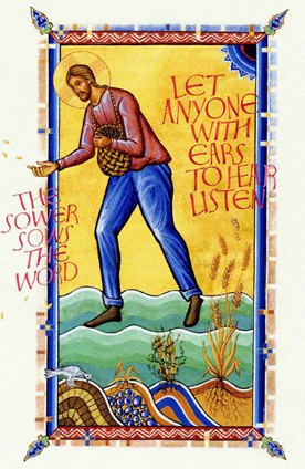 The Sower, from St. John's Bible