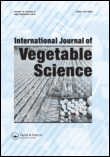 International Journal of Vegetable Science