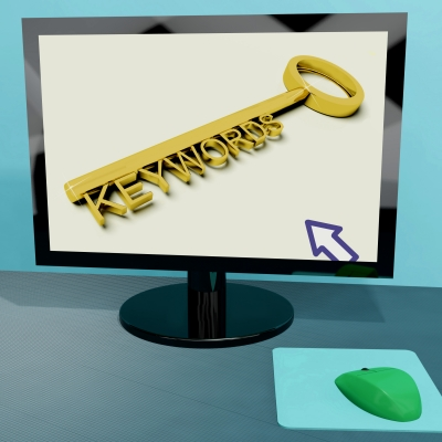 Keywords on Computer Screen
