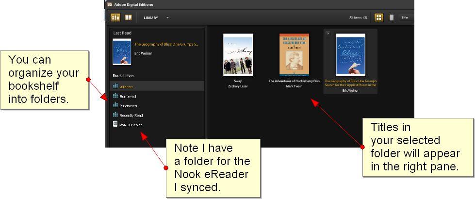 Online library catalog screenshot