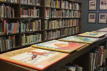 children's books at Carmichael
