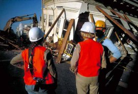 Well trained rescue teams can reduce the impact of earthquakes